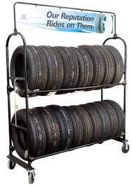Rolling Tire Storage Rack