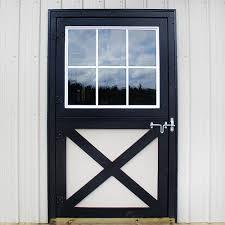 dutch door glass panel