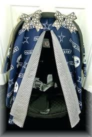 dallas cowboys car accessories set car seat canopy car seat cover cowboys silver home design ideas