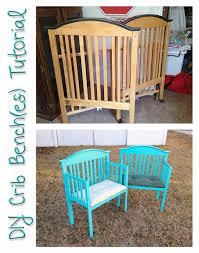 Headboard Bench Plans Playing It Cooley Diy Crib Bench Tutorial Diy Pinterest