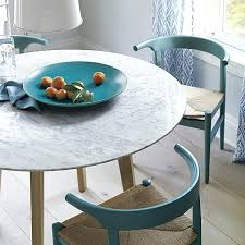 round dining table marble small fox exotic look covers