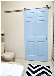 glass doors for bathrooms. Sliding Bathroom Door Innovative Hardware Gets A Makeover Using Rolling . Glass Doors For Bathrooms