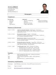 Cv Technicien Informatique Niveau 2 Ccmr