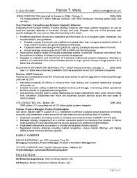 ceo technology resume page 2 sample technology resume