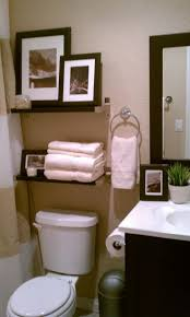 Decorate Small Bathrooms How To Decorate Bathroom Awesome Idea To Use A Wine Rack As A