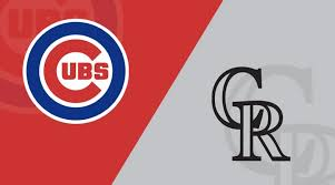 Chicago Cubs Depth Chart 2017 Chicago Cubs Vs Colorado Rockies 6 4 19 Starting Lineups