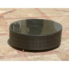 round patio coffee table new home design of brilliant 30 top wicker patio side table scheme