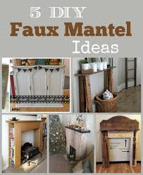 diy faux fireplace ideas diy faux fireplace surround plans rogue
