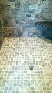 in stone shower floor natural on the ceramic full image for rustic walk tile ideas diy sofa exquisite shower pan