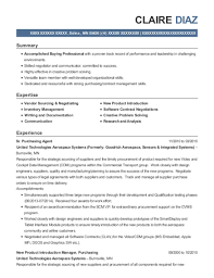Senior Buyer Resume Stunning Best Senior Buyer Resumes ResumeHelp