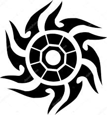 татуировки солнца татуировка солнце стоковое фото Siart1 2863734