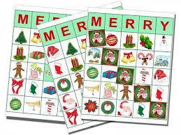 Printable Bingo Cards For Christmas Lovetoknow
