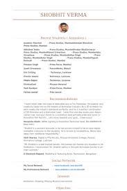 3d Animator Resumes Resume Format 3d Animator Animator Format Resume Resumeformat