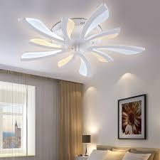 modern bedroom lighting ceiling. aliexpresscom buy new arrival modern led ceiling lights for living room bedroom acrylic lustres lamp home lighting luminaire from reliable
