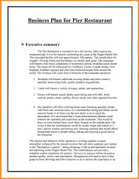 Template Restaurant Business Plan Examples Sample Doc Pdf Uk Form ...