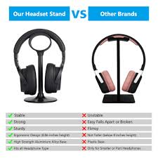 headphone stand diy stable headset bracket display computer holder rack