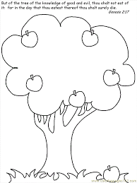Small Picture Adam and Eve Coloring Page Free Adam and Eve Coloring