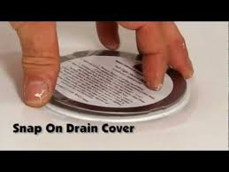 bruco easy install shower drain how to install a shower drain with one person you
