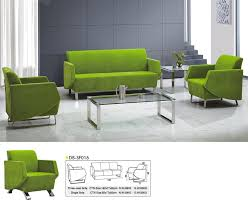 cheap office sofa. Cheap Green Fabric Office Sofa / Living Room China Customized F