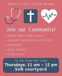 Join Our Community Nursing Christian Fellowship