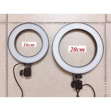 Đèn Led tròn LiveStream Ø 20CM Trang điểm Chụp ảnh Xăm nghệ thuật SIêu sáng  Có nút chỉnh 3 chế độ sáng giảm chỉ còn 220,000 đ