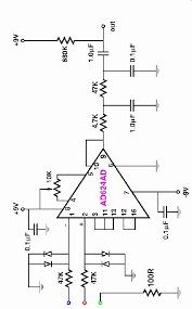 electrocardiogram ecg circuit diagram for use oscilloscopes ecg circuit diagram