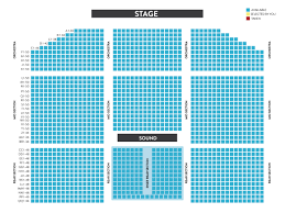 Murphy Theater Seating Chart Best Picture Of Chart