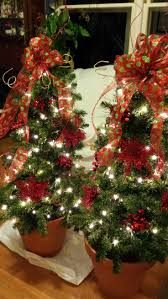 Outdoor Christmas Decoration Best 25 Outdoor Christmas Trees Ideas On Pinterest Outdoor