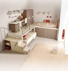 Very Nice Bunk Beds Furniture With Soft Beige Color Canopy Beds Triple Bunk  For Sale Kids Bedroom Storage Cool Childrens Boys Design Ideas Room King  Size ...