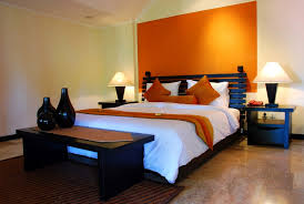 wall colors for black furniture. Brilliant Colors Light Orange Headboard Area Bedroom Colors With Black Furniture For Wall Colors Black Furniture A