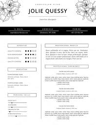 Fashion Resume Template | CV by This Paper Fox on Creative Market