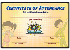 Vbs Certificate Template Csm Publishing Home