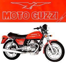 1980s moto guzzi v50 iii motorcycle