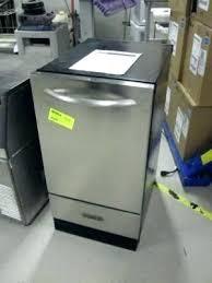 kitchenaid undercounter ice maker. Kitchenaid Undercounter Ice Makers Maker Not Making