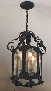 handmade iron lighting fixtures