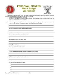 Printables Boy Scout Merit Badge Worksheet Answers Freegamesfriv