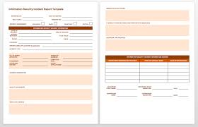 Incident Report Template Resume Ideas Medical Form Photo