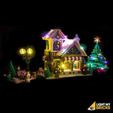 Winter Pictures With Led Lights Lego Winter Toy Shop 10249 Light Kit