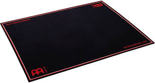 drum rug black