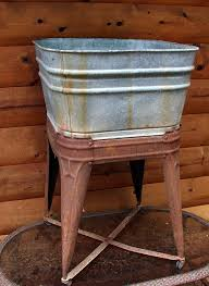 vintage galvanized bathtub 36 best old wash boards and wash tubs images on wash