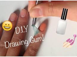 D.I.Y #9 : Drawing Gum - YouTube