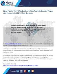 Us Led Lighting Market Size Ppt Light Fidelity Li Fi Market Worth Usd 101 Billion By