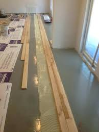 hardwood floor on concrete how to install hardwood floor on concrete chic design how to install