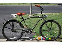 the general custom 26 men s army beach cruiser bike