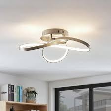 <b>Modern</b> geformte LED-Deckenlampe Saliha in 2019 | Led ...
