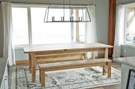the easiest rustic dining table that you can build perfect beginner farm table plans by ana white com