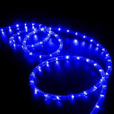 christmas rope lighting. led rope light blue 150 feet christmas lighting