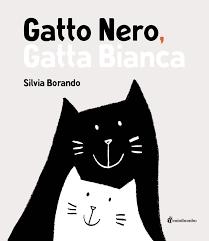 Gatto Nero Gatta Bianca Nero E Bianco La Fusione Forma Una