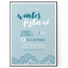 Winter Flyer Template Winter Festival Flyer Template PSD DOCX The Flyer Press 15