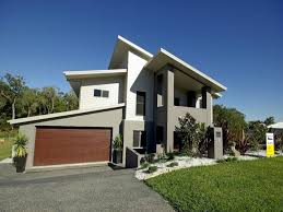 Small Modern Exterior House Colours